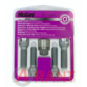 Секретки McGard 28042SU Болт 14x1,5 48,9мм. Сфера - Ключ 17