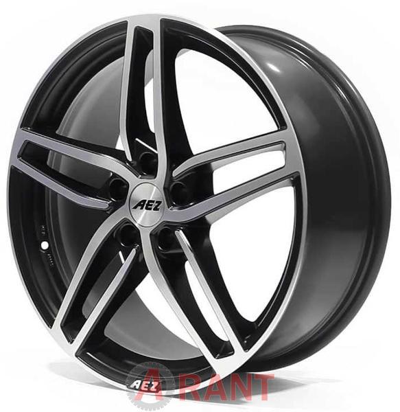 Диски AEZ Genua matt black polished