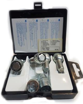 Секретки Farad B08/D-1CH Болт 12 x 1,25 45мм. Конус - Ключ 19 - Вращающееся кольцо