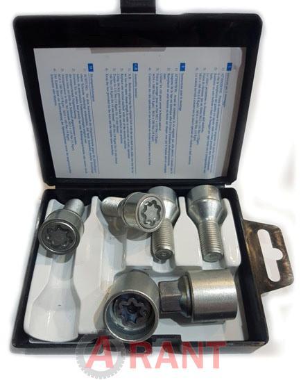 Секретки Farad E1/E-1CH Болт 12x1,25 31мм. Конус - Ключ 19 - Вращающееся кольцо