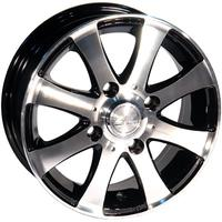 "Диск ZW 461 black polished 13"" 5,0J 4x114,3 ET40 DIA69,1"